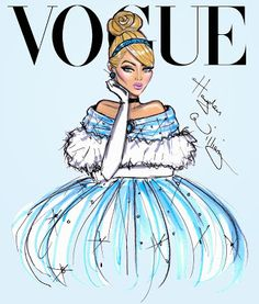 Hayden Williams Fashion Illustrations: Disney Divas for Vogue by Hayden Williams: Cinderella