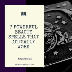 Here you can find 7 Powerful Beauty Spells that actually work. Some of them even work overnight. Enjoy in these spells for beauty and youth! Spells That Actually Work, Love Spell That Work, Magick Book, Magick Spells, Spells For Healing, Voodoo Spells, Spells For Beginners, Witchcraft For Beginners, Glamour Spell