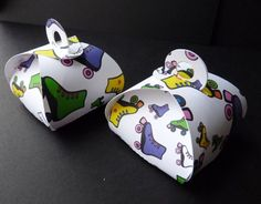 Rockin Roller Skate Party Favor Boxes, Rollerskates, Retro | WildvineUnlimited - Paper/Books on ArtFire
