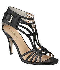 """COLE HAAN Jeanette T-strap Sandals, 7.5M - Super comfy, but SO says they look like """"spiders"""". I love them!"""