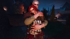 I'm a big fan of Witcher games and books. My favorite character is Triss Merigold, but I'm a sucker for sorceresses. The Witcher Geralt, Witcher Art, Geralt Of Rivia, Redhead Characters, Fantasy Characters, The Withcer, The Witcher Wild Hunt, Triss Merigold, Hail Storm