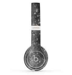 The Glowing Grayscale Orbs of Light Skin Set for the Beats by Dre Solo 2 Wireless Headphones Cute Headphones, Wireless Headphones, Beats Headphones, Beats By Dre, Laptop Covers, Light Skin, Laptop Skin, Computer Accessories, Macbook