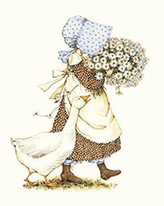 ilclanmariapia: Holly Hobbie , Sarah Kay e le bimbe Sunbonnet Sue Holly Hobbie, Sara Kay, Illustrations Vintage, Daisy Love, Sunbonnet Sue, Cute Illustration, Clipart, Paper Dolls, Childhood Memories