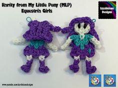 Rainbow Loom Rarity My Little Pony Equestria Girl MLP - YouTube
