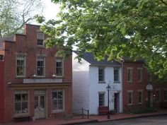 Historic roscoe village coshocton ohio -
