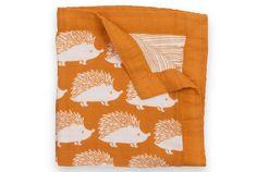Amazon.com: Milkbarn Mini Lovey Baby Blanket (Grey Whale): Baby