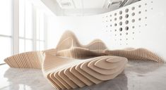 Sculptural Benches by dEEP Architects in China