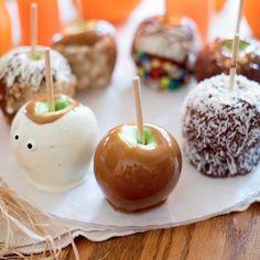 Gourmet Caramel Apples http://sodapopave.com/soda-pop-ave/2013/9/12/gourmet-caramel-apples