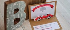 Vintage Red Car Themed 1st Birthday Party