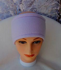 Lavender Ear Warmer, Fleece Lavender Ear Warmer, Lavender Winter Ear Warmers, Purple Fleece Earmuffs, Purple Fleece Ear Warmers by StephFleeceDesigns on Etsy