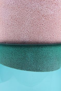 Colour inspiration - speckled pale pink, forest green and sky blue