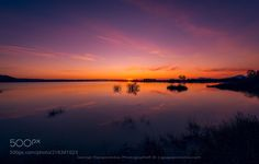 Twilight in the lake by GeorgePapapostolou via http://ift.tt/2sxcgz2