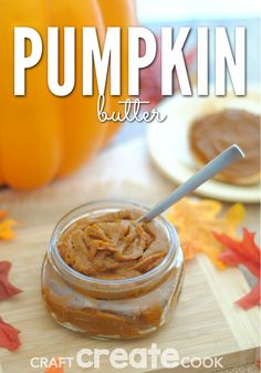Pumpkin butter recipe! So good for the fall