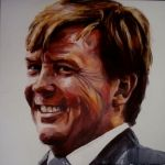 Carla van Lieshout - staatsie portret Willem Alexander, portretten naar model, masterclass www.carlavanlieshout.nl