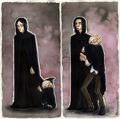 Uncle Snape by CaptBexx on deviantART