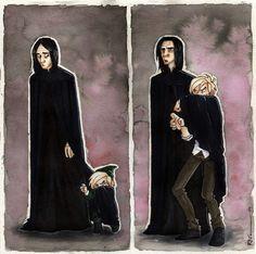 Uncle Snape by CaptBexx on deviantART