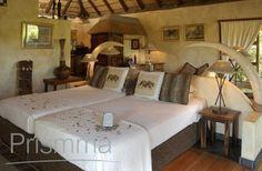 twin bed design african-safari-the-mkuze-falls-lodge-kwa-zulu-natal/ #prismmamagazine