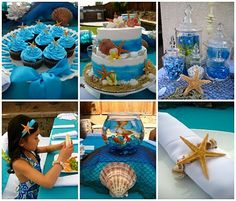 beach or under the sea party. great website with kids party ideas