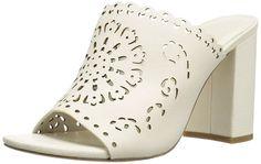 Joie Women's Laban Slide Sandal, Shell, 37.5 M EU (7.5 US)