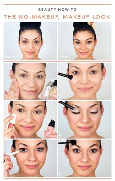 The no makeup, makeup look