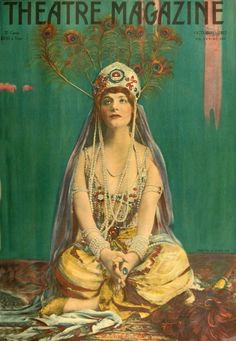 Theatre Magazine cover featuring Elsie Ferguson, 1917
