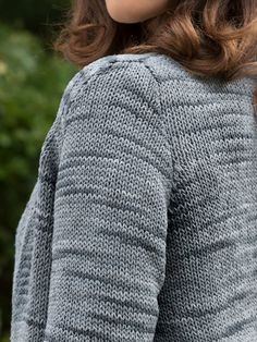 db8ebdda625d21 Musselshell Cardigan Knitting Pattern using Berroco Suede Yarn Easy  Knitting Patterns