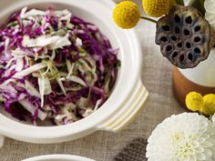 With mustard, garlic, honey and apple cider vinegar this cabbage slaw might be simple but it's certainly flavoursome.