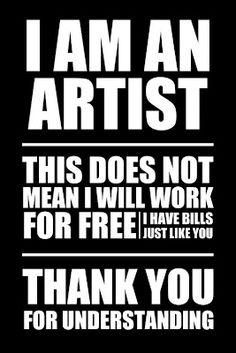 artists...