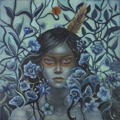 The little blues  Artwork by Ingrid Tusell