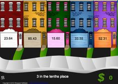 Fractions - Interactive Learning Sites for Education.TONS of fantastic and beautiful fraction games here! Place Value Games, Math Answers, Fifth Grade Math, Fourth Grade, Third Grade, Fraction Games, Learning Sites, Math School, Fun Math Games