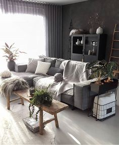 The neo art deco, new breath for the - HomeDBS Dark Living Rooms, Bohemian Living Rooms, Living Room Colors, Living Room Decor, Bohemian Decor, Interior Design Living Room Warm, Room Interior, Living Room Designs, Living Room Inspiration