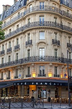 Cafe Francais, Paris France. © Brian Jannsen Photography
