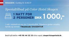 Vennetilbud: supre priser på reiser med Color Line