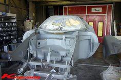 Lancia Stratos full chassis restoration done by Kreissieg - Teamspeed.com Model Cars Kits, Kit Cars, Ducati 996, Alfa Romeo, Maserati, Diorama, Safari, Restoration, Bike