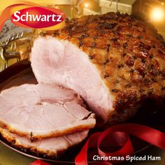 CHRISTMAS SPICED HAM A succulent Christmas ham finished with a cinnamon and sherry flavoured glaze and studded with whole cloves. https://www.facebook.com/photo.php?fbid=552729668145322&set=a.552729578145331.1073741835.114457901972503&type=3&theater