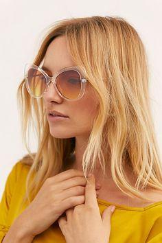 b17bb3103143 Slide View 1: Gradient Cat Eye Sunglasses Cat Eye Sunglasses, Round  Sunglasses, Sunglasses