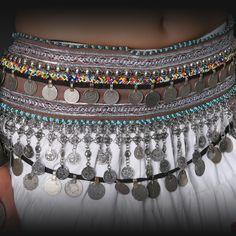Jewelry & Watches Fashion Jewelry New Kuchi Tribal Belly Dance Glass Beaded Anklet Payal Jewelry India Gypsy Boho Reliable Performance