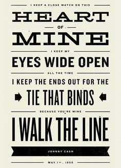I walk the line. ❣Julianne McPeters❣ no pin limits