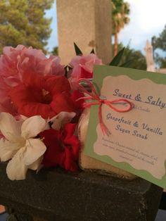SweetSaltyScrubs: Homemade Grapefruit & Vanilla Sugar Scrub :D