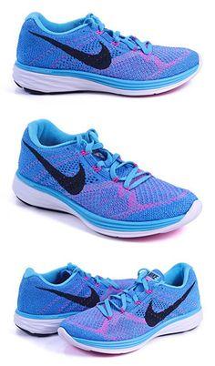 3c6426070e44 ... promo code nike womens flyknit lunar3 running shoe 8 bm us gamma blue  photo blue white