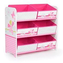 Guarda todos tus #juguetes en una cajonera de mariposas y flores