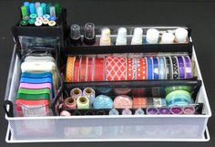Companion Cart - Metal Maid Perfect for craft supply organization. http://www.totally-tiffany.com/product/companion-cart/