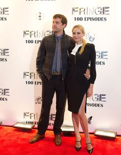 "Diane Kruger - ""Fringe"" Celebrates 100 Episodes And Final Season"