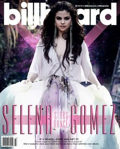 Selena Gomez is the cover star of Billboard magazine August 2013
