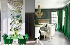 If you haven't heard the news, Pantone's color of 2013 is Emerald,  17-5641, and I, for one, am thrilled with the choice! Based on the mineral rock, emerald is one of the most valuable gems—even more than diamonds. Emerald is bold, rich, and radiant and the perfect dramatic enhancer to a dull room or outfit.