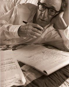 Woody Allen, for making neuroses socially acceptable and in most cases downright hilarious.