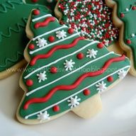 xmas cookie    print off for canisters
