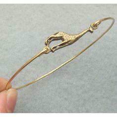 Cute Giraffe Bangle Bracelet