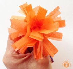 DIY: How to Make Cempasúchil Paper Flowers: