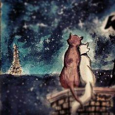 Cats in Paris (Raissa Alves)